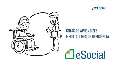 Imagem - eSocial: Cotas de Aprendizes e Portadores de Deficiências