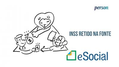 Imagem - eSocial: INSS retido em nota fiscal